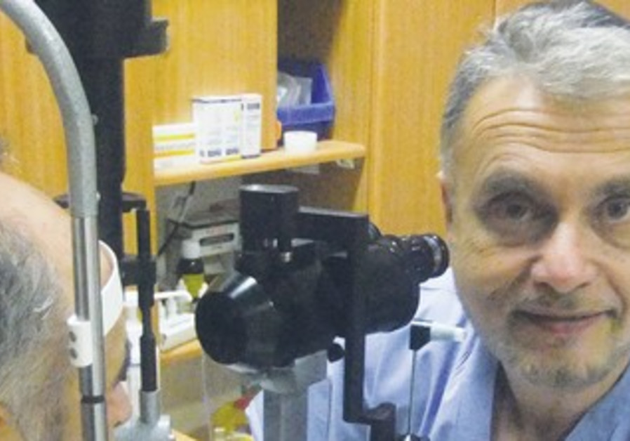 Dr. Benzion Silverstone, Shaare Zedek Hospital