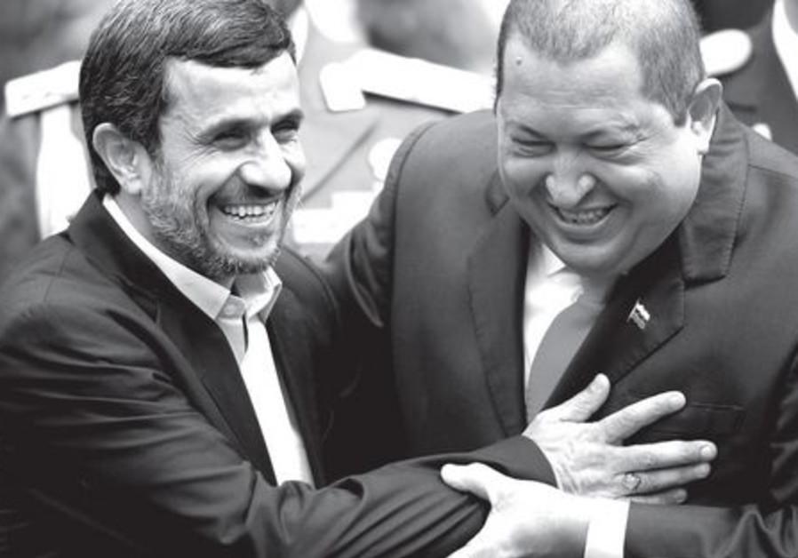 Ahmadinejad and Chavez