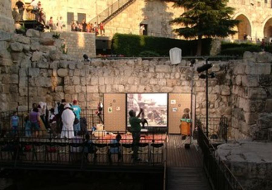 Passover at Tower of David