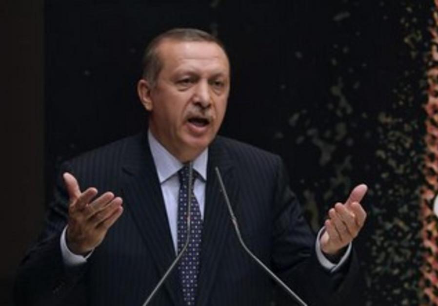 Turkish Prime Minister Erdogan.