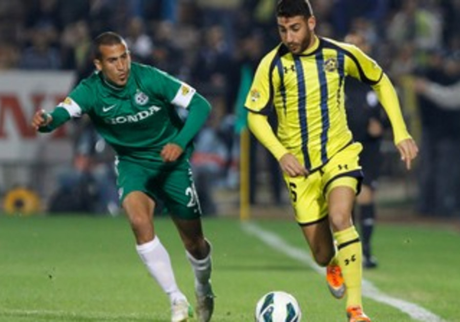 Maccabi Tel Aviv face off with Maccabi Haifa.