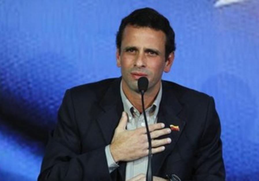 Venezuela opposition leader Henrique Capriles.
