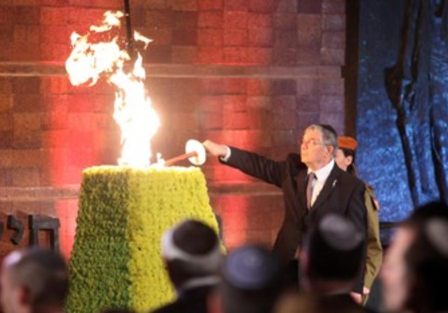 Yad vashem ceremony