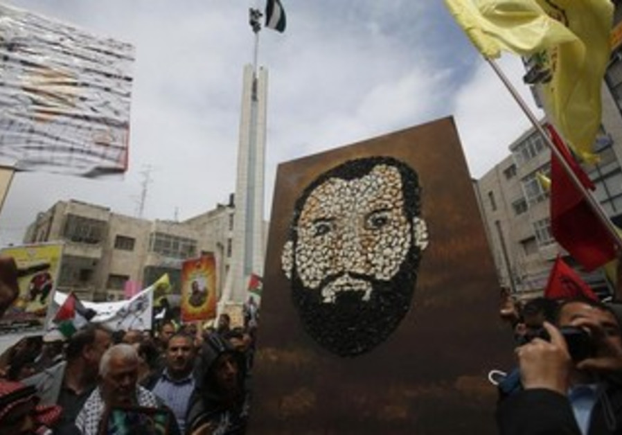 Palestinians protest treatment in Israeli prison system