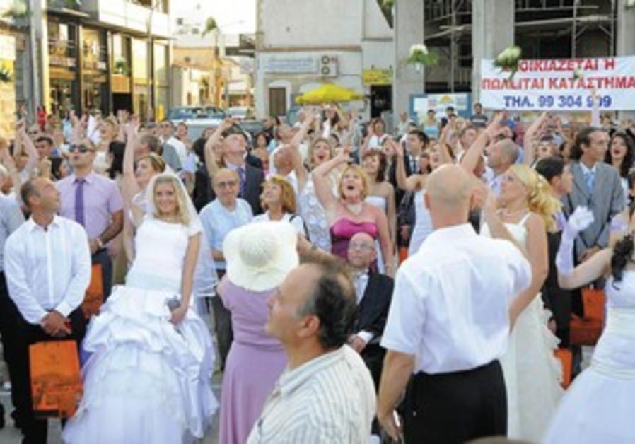 Civil ceremony in Cyprus