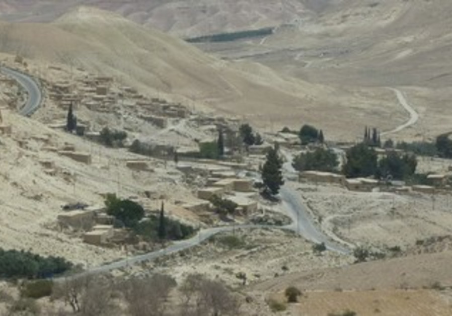 A VILLAGE in northern Jordan, in the area identified as Ramoth-Gilead of the period of King Ahab.