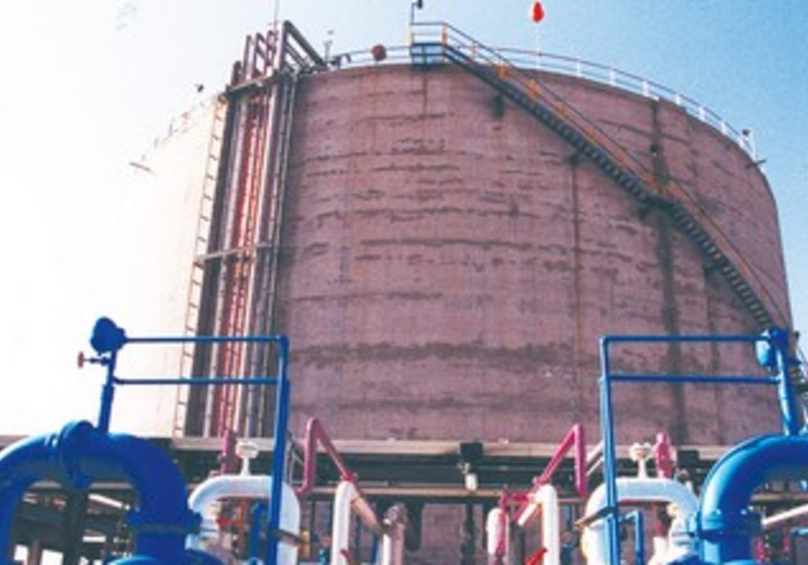 Haifa Chemicals ammonia tanker