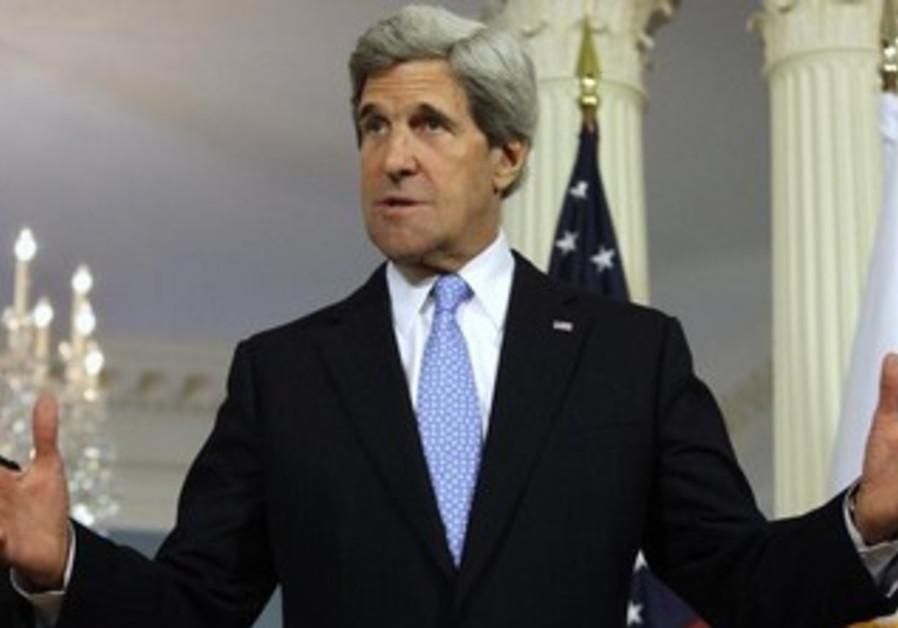 John Kerry addresses the media