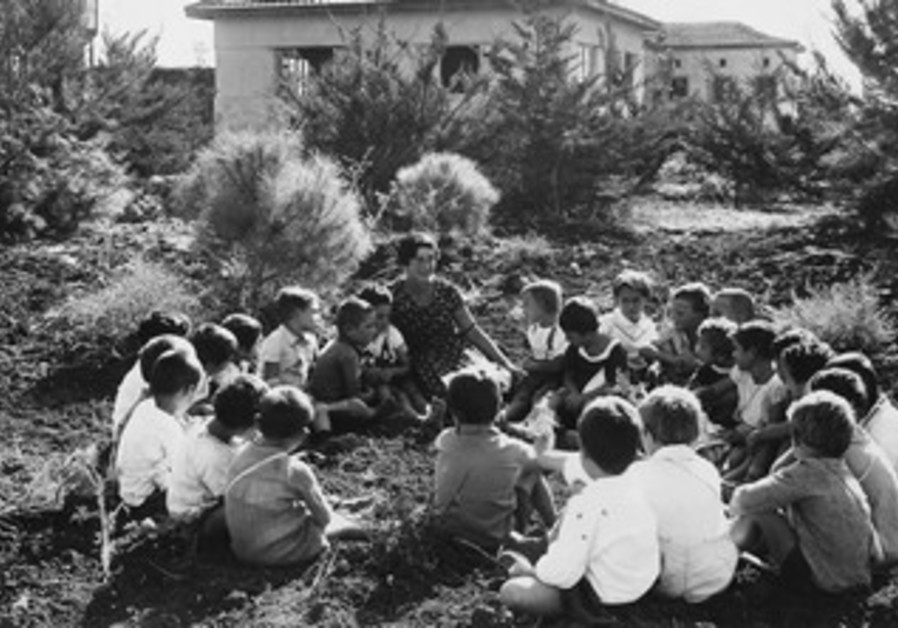 THE CHILDREN of Nahalal (circa 1920s).
