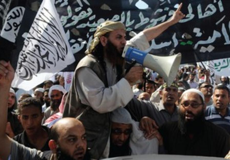 Hardline Islamists in Egypt.