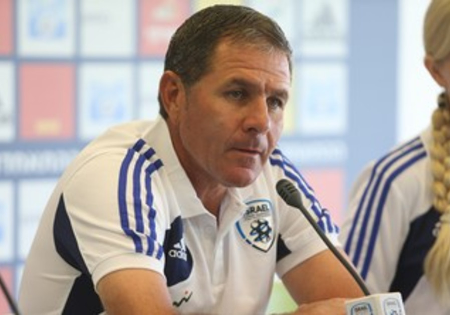 Israel National team coach Eli Gutman