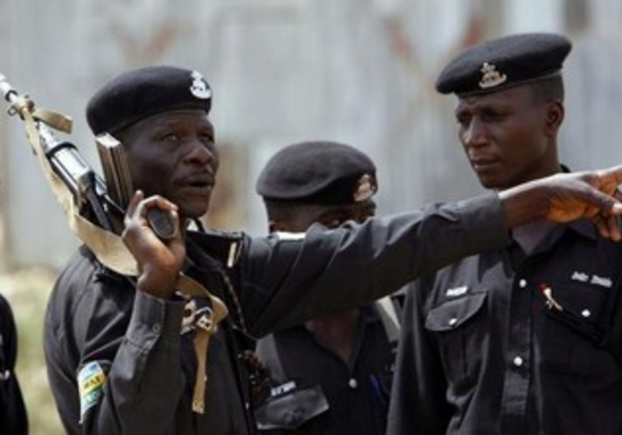 A police officer in the northern city of Kano.