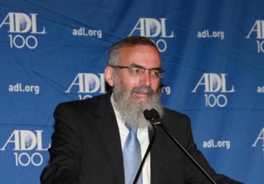 Rabbi David Stav.