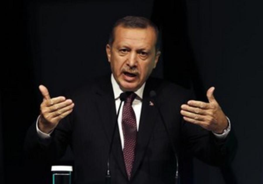 Turkey's Prime Minister Tayyip Erdogan.