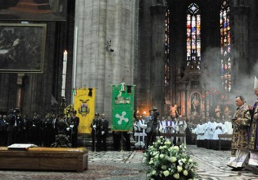 THE FUNERAL of Cardinal Carlo Maria Martini