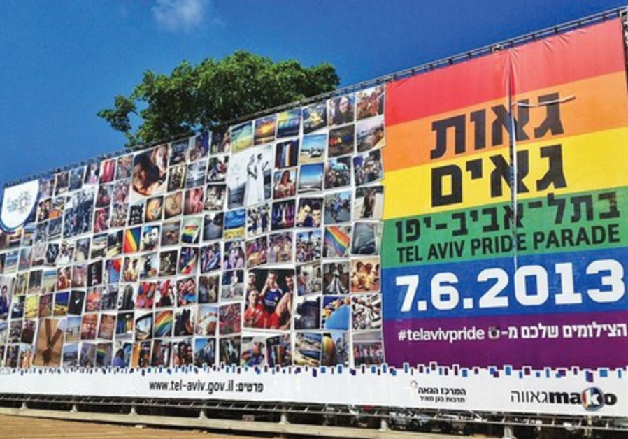 Gay Pride Month Tel Aviv