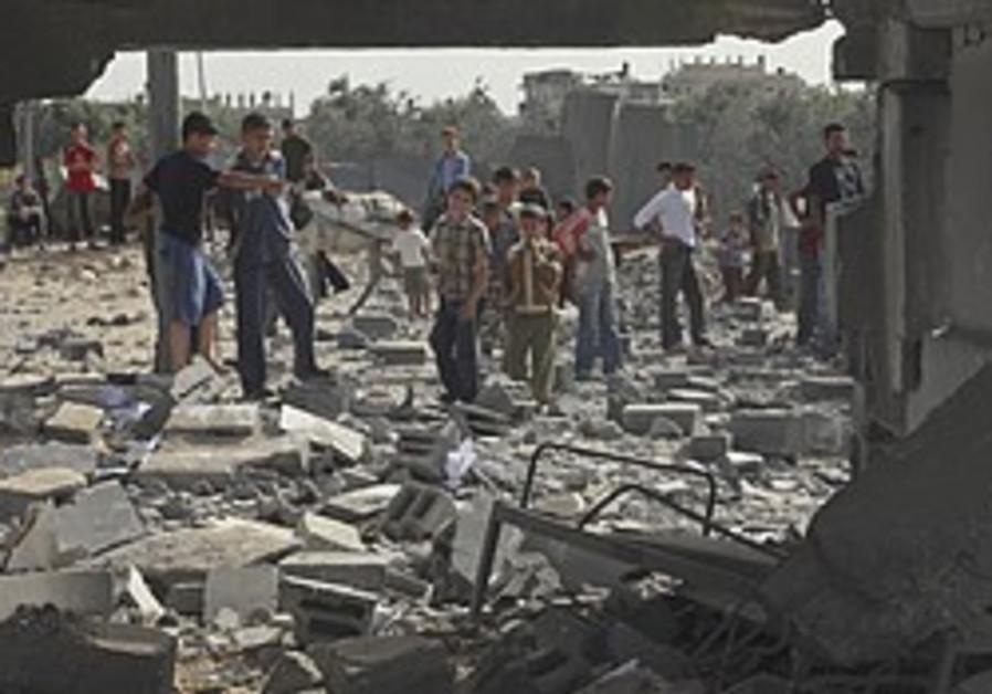 IAF strikes in Gaza after Kassam attack