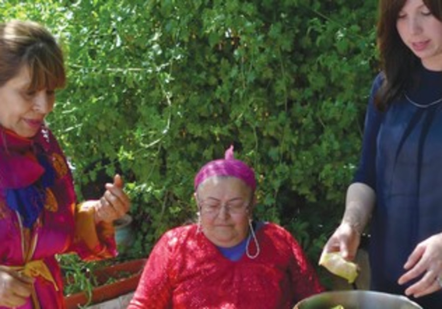 JAMIE GELLER learns traditional Kurdish cuisine.