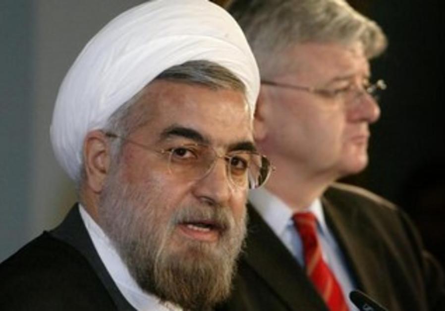 Former Iranian nuclear negotiator Hassan Rohani [file].