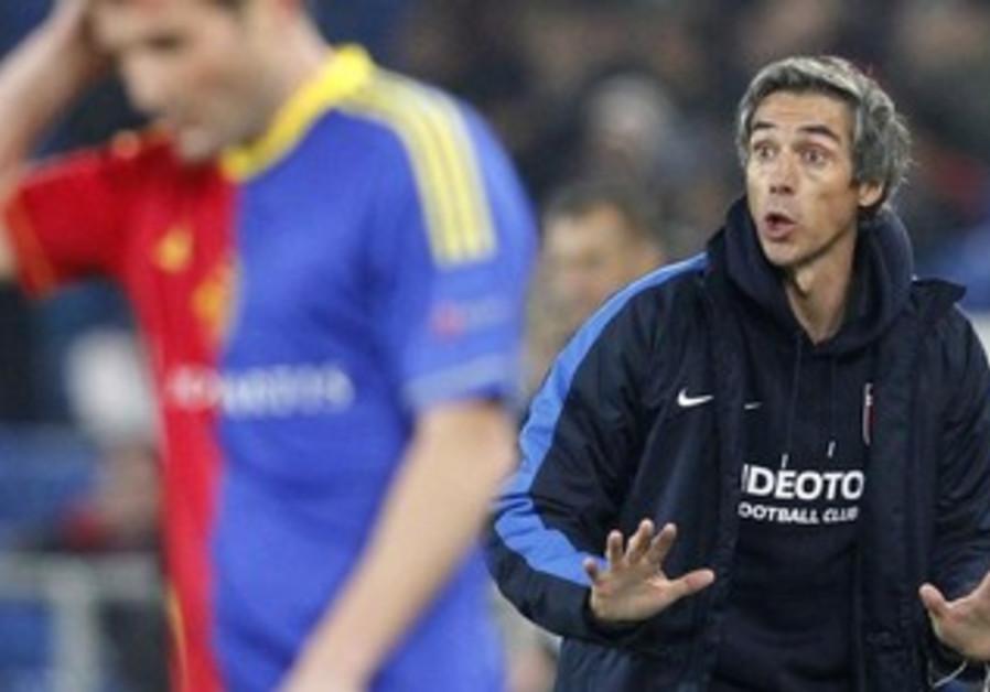 Maccabi Tel Aviv coach Paulo Sousa