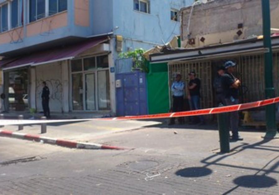 Scene of stabbing attack by Sudanese migrant in south Tel Aviv