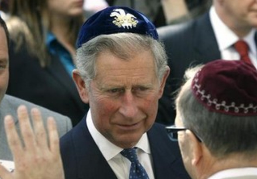 Britain's Prince Charles at the opening of the Jewish Community Center in Krakow April 29, 2008.