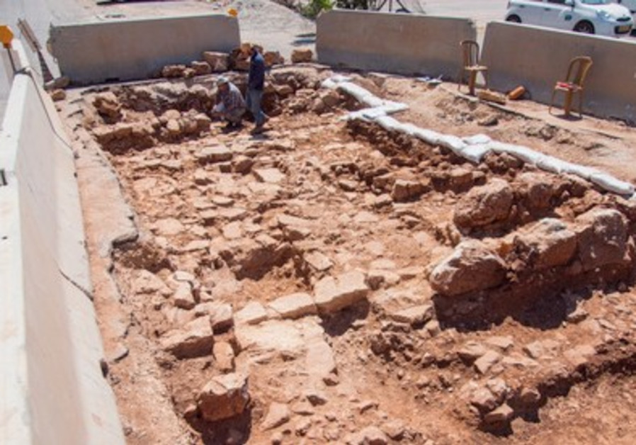 Excavation of Jaffa-Jerusalem road in capital.