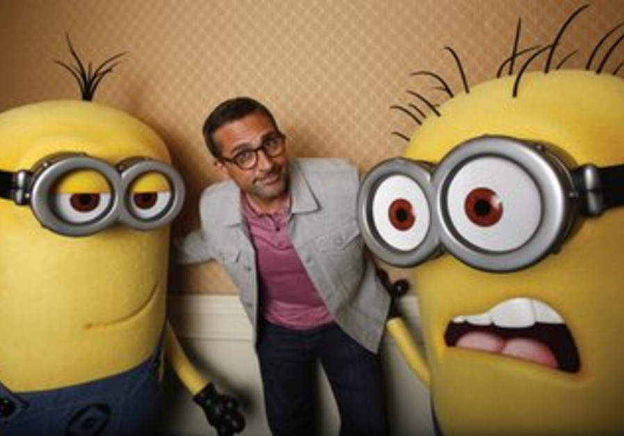 Steve Carell poses while promoting 'Despicable Me 2'