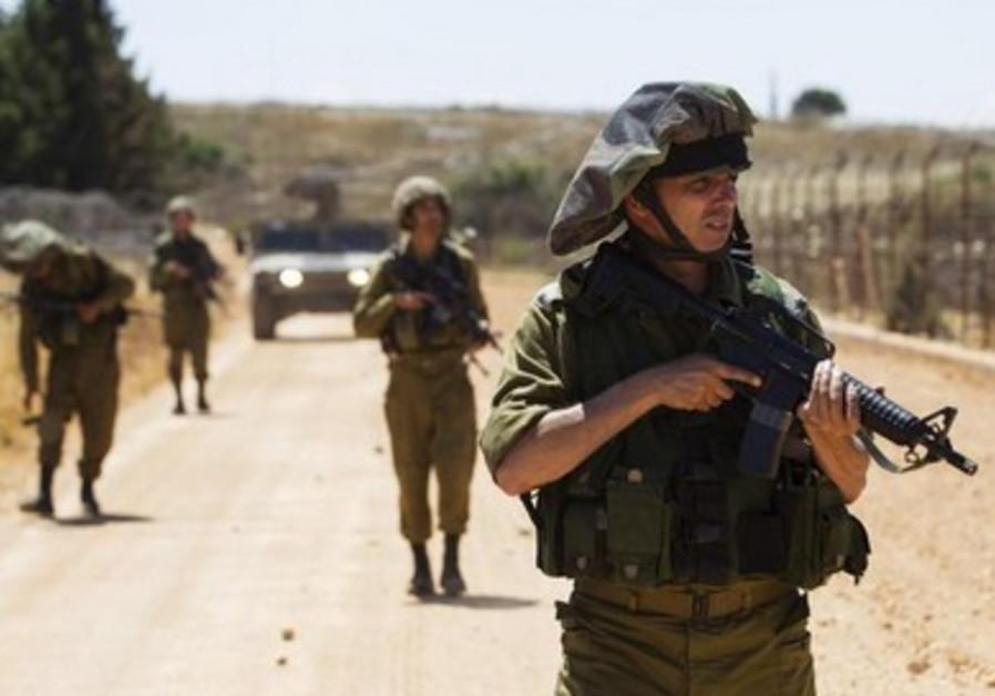 IDF soldiers on patrol [file]