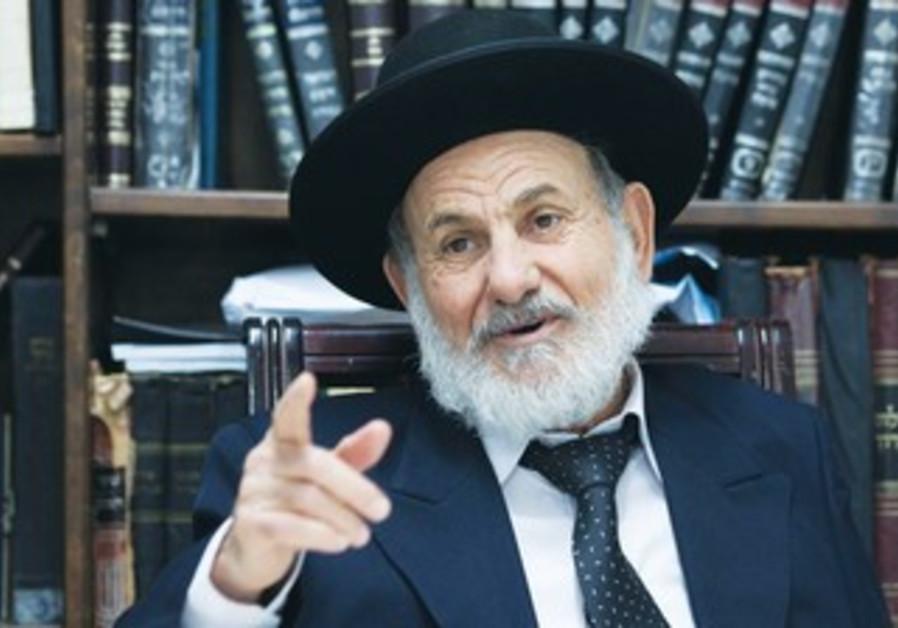 Rabbi candidate Tzion Shalom Boaron.