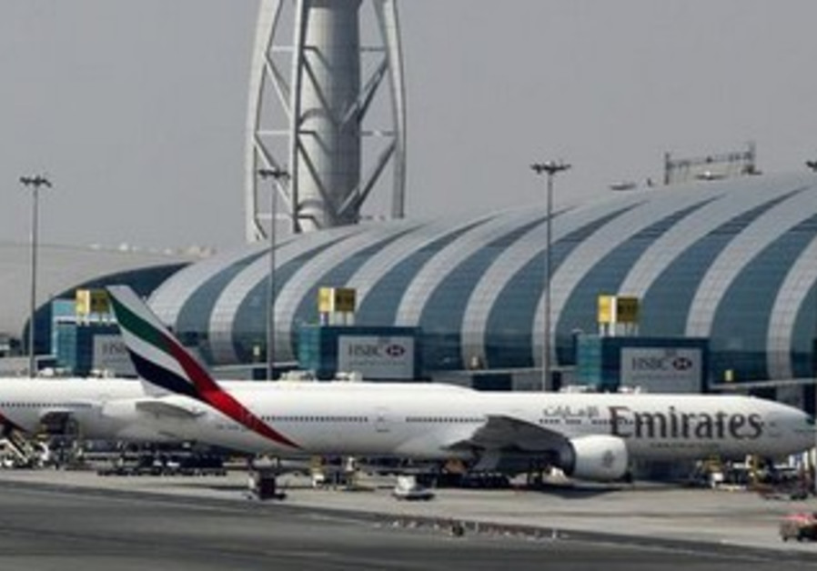 An Emirates airlines aircraft.