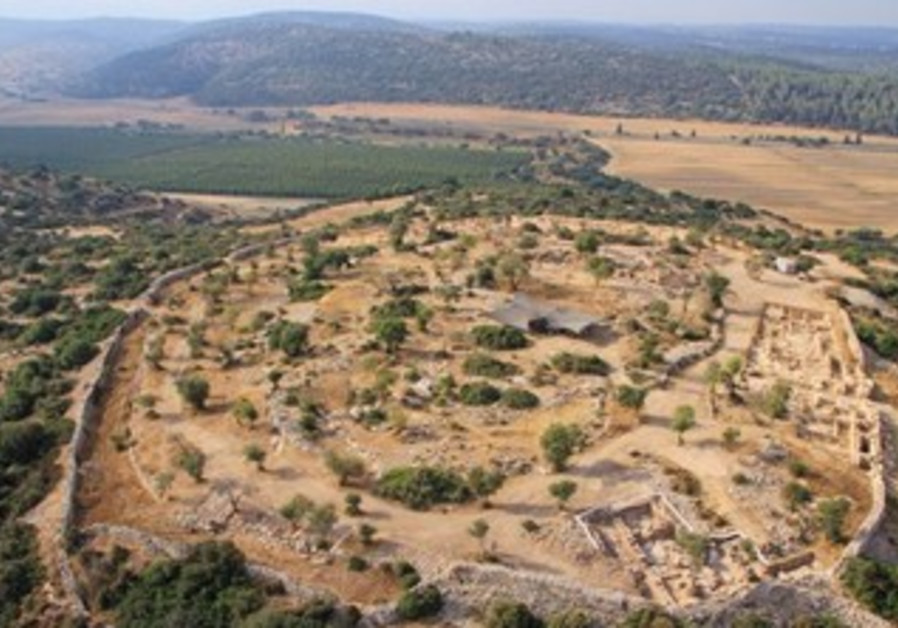 Archeologists uncover palace from Kingdom of David
