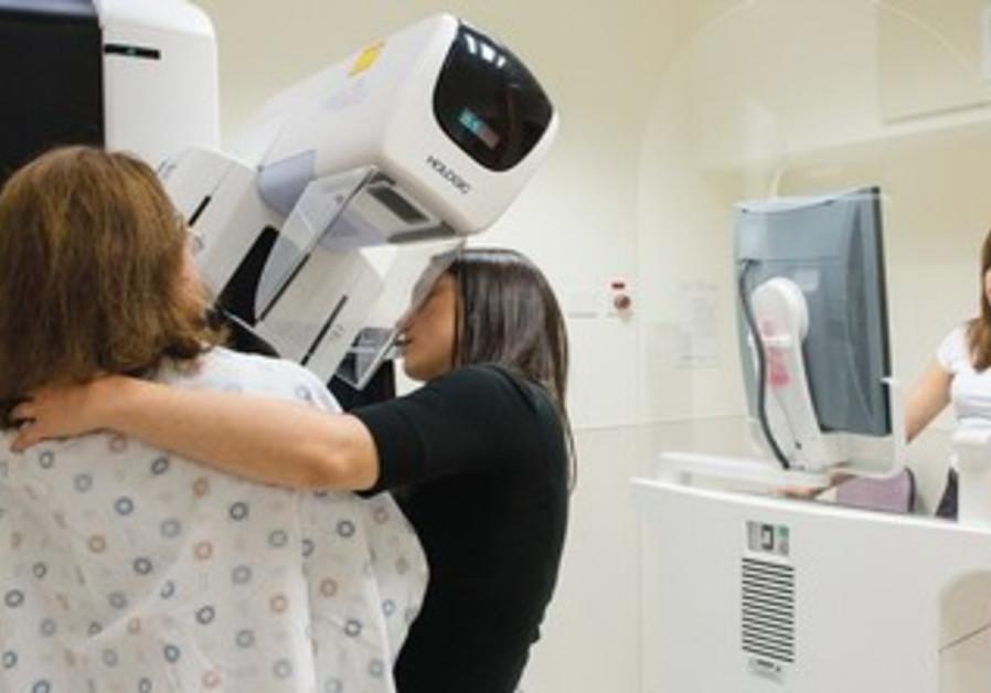 Mammogram.