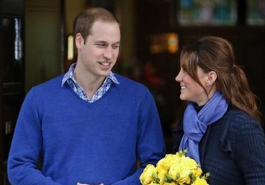 Britain's Prince William and Catherine, Duchess of Cambridge
