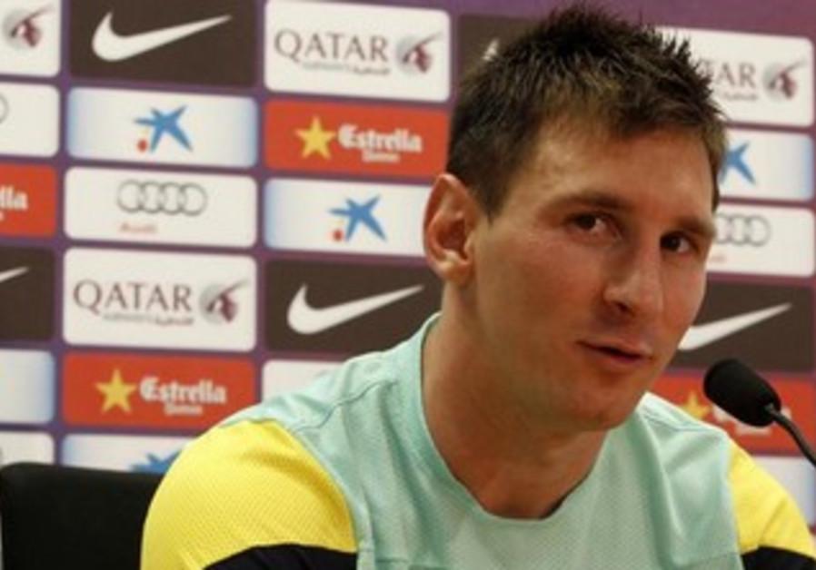 Barcelona strike Lionel Messi