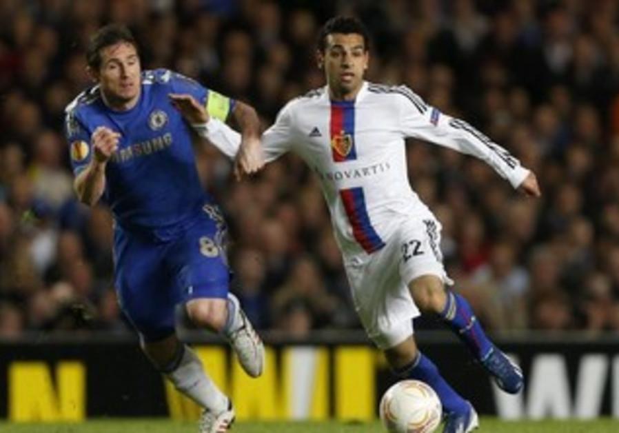 FC Basel midfielder Mohamed Salah