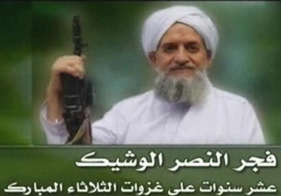 Al-Qaida's new leader, Egyptian Ayman al-Zawahiri.
