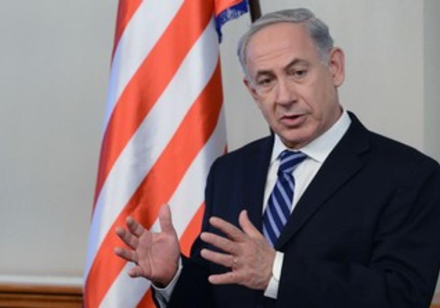 Prime Minister Binyamin Netanyahu with Democratic US Congressmen, August 8, 2013.