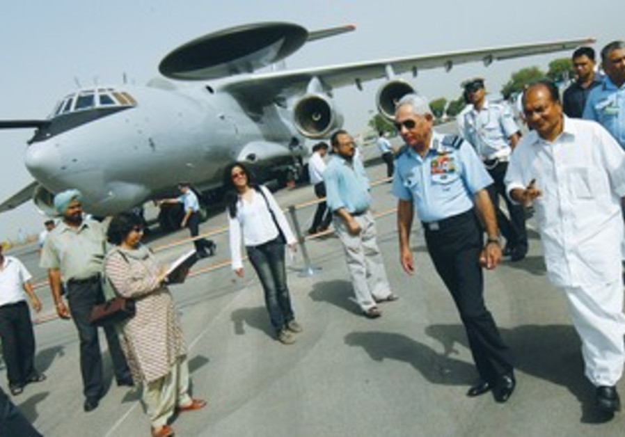 THE FIRST of the three AWACS from Israel delivered to Agra airbase, India in 2009.