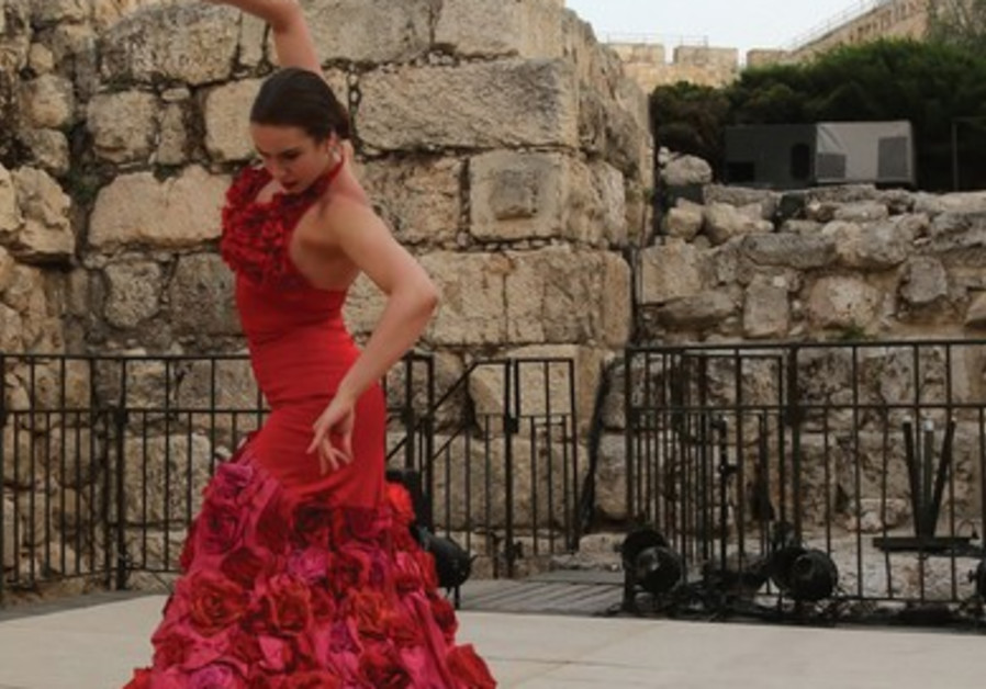 Flamenco at the Tower of David