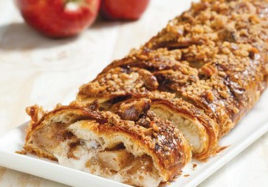 Caramelized apple krantz