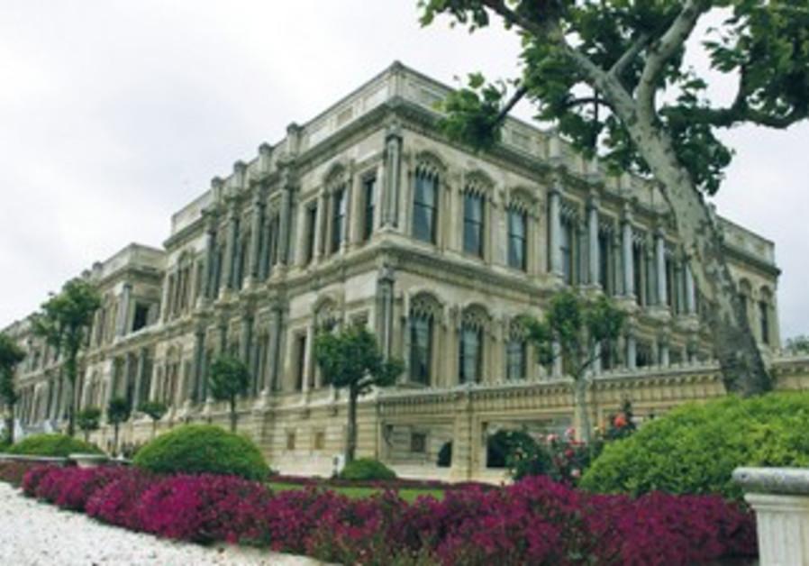 TURKEY'S 19TH century Ottoman Ciragan Palace in Istanbul.