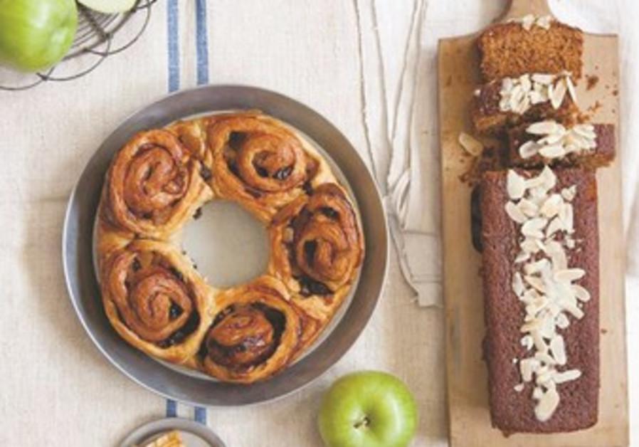 Cakes for Rosh Hashana from Lehem Erez