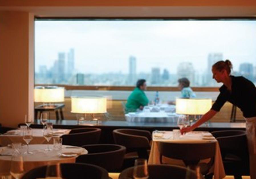 Blue Sky restaurant at the Carlton Hotel in Tel Aviv