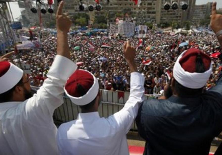 Clerics supporting deposed Egyptian President Mohamed Morsi
