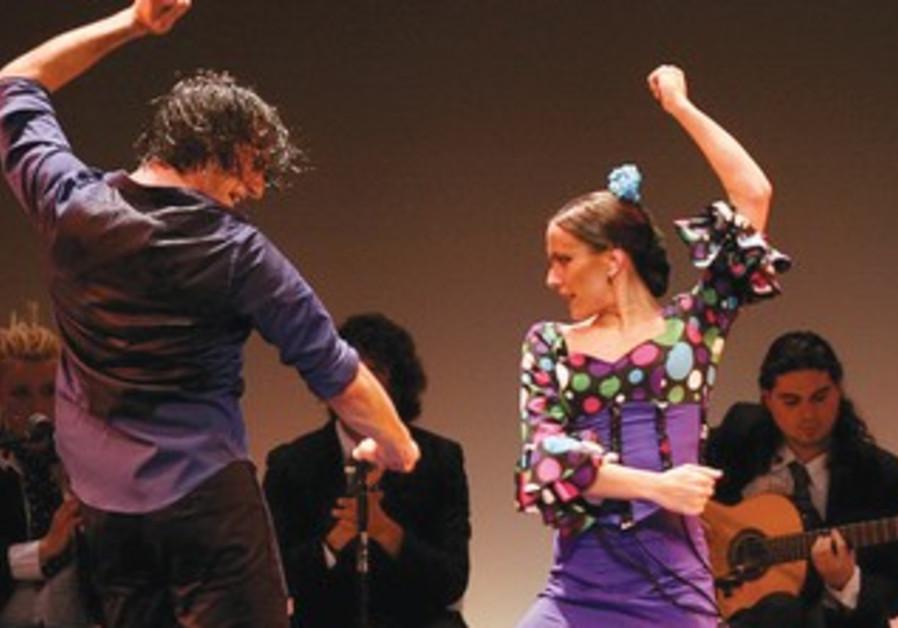 Jose Porcel Flamenco Dance Company.