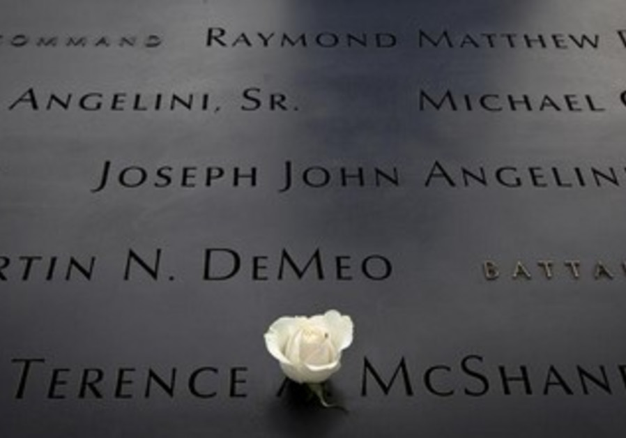 National September 11 Memorial in New York.