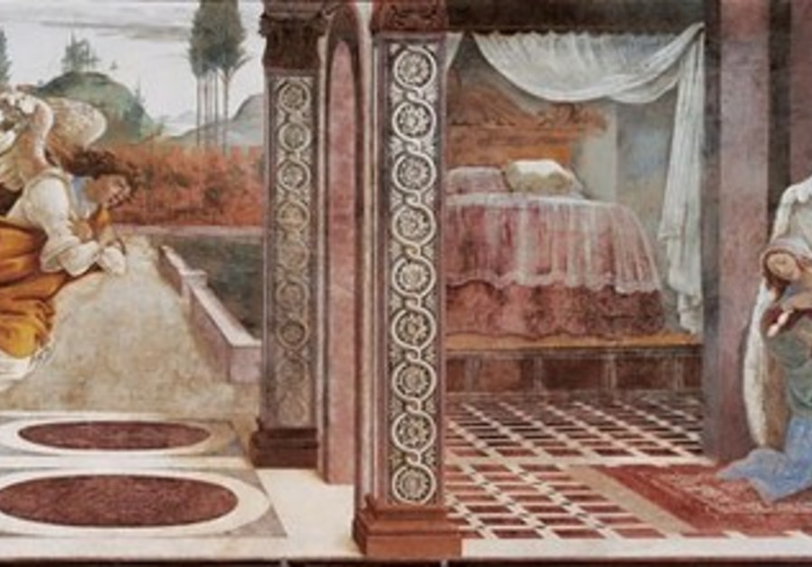 The Annunciation of San Martino alla Scala by Botticelli
