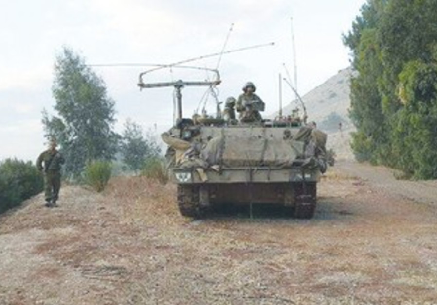 The IDF used a new version of the Smart Broadcast mapping system during exercise in the North.
