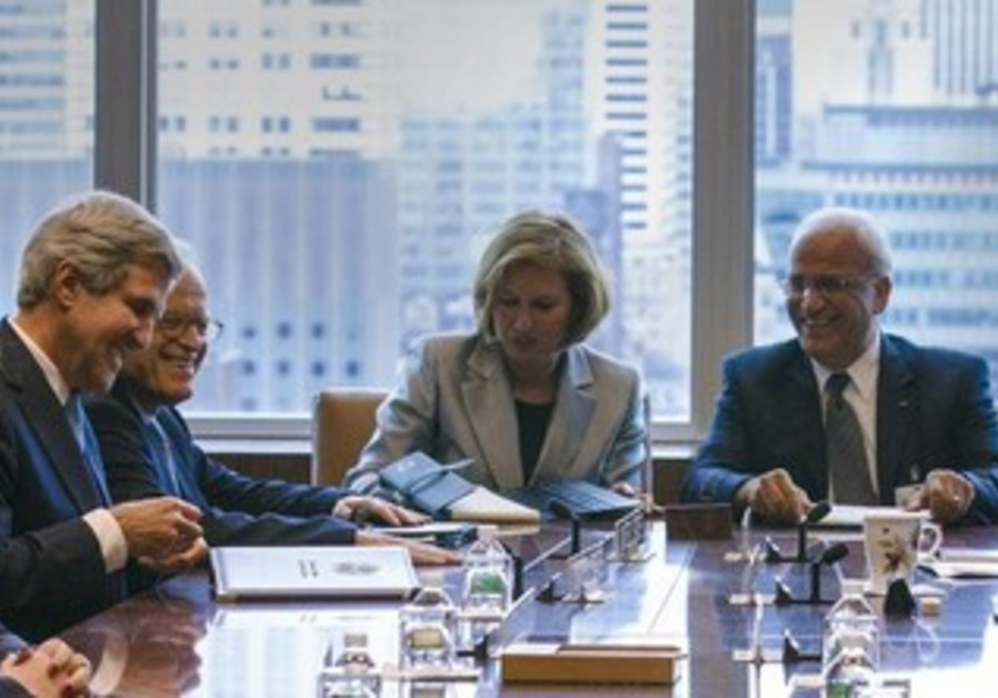 Meeting of the Middle East Quartet in New York, September 27, 2013.